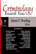 Criminology Research Focus