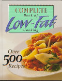 Complete Book of Low fat Cooking Book PDF