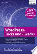 WordPress Tricks und  Tweaks