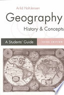Geography   History and Concepts