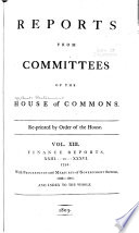Reports from committees of the House of Commons