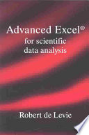 Advanced Excel for Scientific Data Analysis