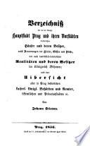 Verzeichniß der in der königl. Hauptstadt Prag und ihren Vorstädten befindlichen Häuser und deren Besitzer (etc.)