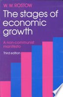 The Stages Of Economic Growth