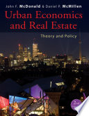 Urban Economics and Real Estate