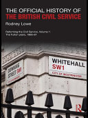The Official History of the British Civil Service