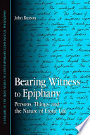 Bearing Witness to Epiphany