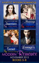 Modern Romance November 2015 Books 5-8 : caitlin crews five years ago, lily holloway walked...