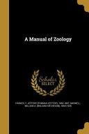 MANUAL OF ZOOLOGY