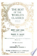 The Best of the World s Classics  Restricted to Prose
