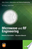 Microwave And Rf Engineering book