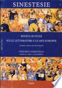 Sinestesie  Rivista di studi sulle letterature e arti europee