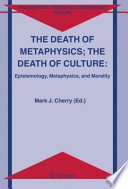 The Death of Metaphysics  The Death of Culture