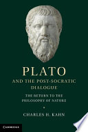 Plato and the Post Socratic Dialogue