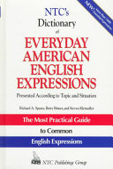 Dictionary of everyday American English expressions
