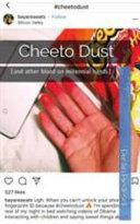 Cheeto Dust
