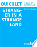 download ebook quicklet on robert heinlein's stranger in a strange land (cliffnotes-like book summary and analysis) pdf epub