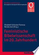 Feministische Bibelwissenschaft im 20  Jahrhundert