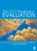 The SAGE Handbook of Evaluation