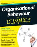 Organisational Behaviour For Dummies