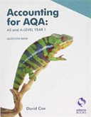 Accounting For Aqa As And A Level Question Bank