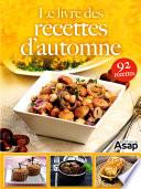 Le livre des recettes d automne