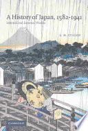 A History of Japan  1582 1941
