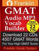 Franklin GMAT Audio MP3 Vocab Builder