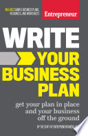 Book Write Your Business Plan