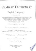 A Standard Dictionary of the English Language