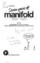 Seven years of Manifold, 1968-1980