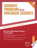 Peterson's Graduate Programs in Computational, Systems, & Translational Biology; Ecology, Environmental Biology, & Evolutionary Biology; and Entomology