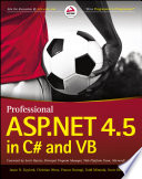 Professional ASP NET 4 5 in C  and VB