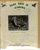 Game Birds in Alabama