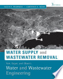 Fair  Geyer  and Okun s  Water and Wastewater Engineering  Water Supply and Wastewater Removal  3rd Edition
