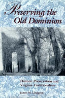 Book Preserving the Old Dominion