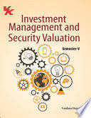 Investment Management And Security Valuation