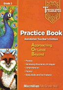 Treasures Grade 3:Practice Book Teachers Edition