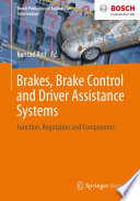 Brakes Brake Control And Driver Assistance Systems