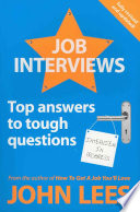 Job Interviews  Top Answers To Tough Questions
