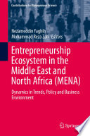 Entrepreneurship Ecosytem in the Middle East and North Africa  MENA