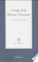 I tempi della Rerum novarum