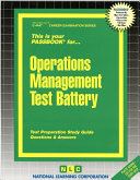 Operations Management Test Battery