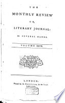 The Monthly Review Or Literary Journal Enlarged