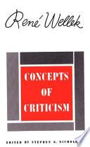 Concepts of Criticism