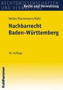 Nachbarrecht Baden-Wurttemberg
