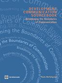 Development Communication Sourcebook