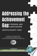 Addressing The Achievement Gap