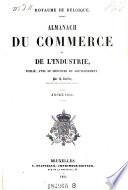 Almanach Du Commerce Et De L'Industrie