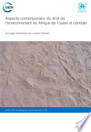 illustration du livre Aspects contemporains du droit de l'environnement en Afrique de l'ouest et centrale